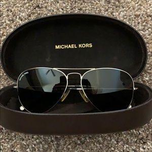 """Michael Kors """"Jet Set"""" Aviator Sunglasses"""